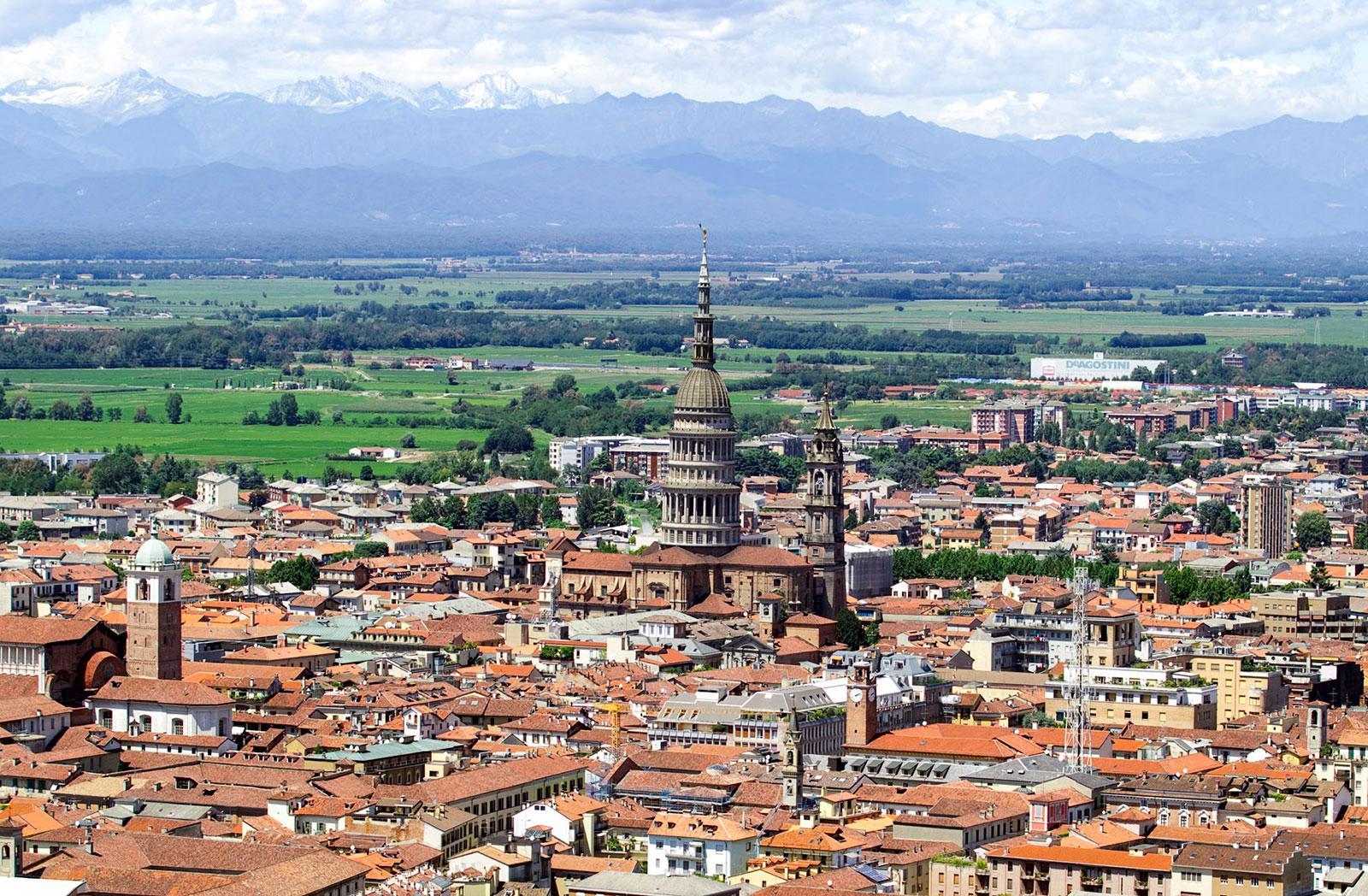 Panorama di Novara